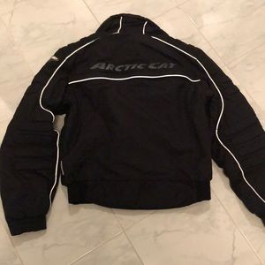 Attic Cat articwear sledding / bike black jacket.